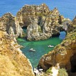 Natural rocks near Lagos Portugal — Lizenzfreies Foto