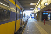 Train waiting at Utrecht station in the Netherlands — Stock Photo
