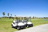Golfbana i algarve portugal — Stockfoto