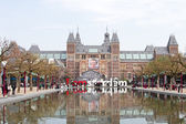 Rijksmuseum in Amsterdam the Netherlands — Stock Photo