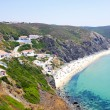 The village Arifana at the westcoast from Portugal — Stock Photo