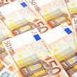 Stok fotoğraf: Fifty euro notes