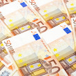 Fifty euro notes — Stock Photo