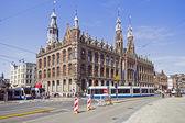 在荷兰阿姆斯特丹的 cityscenic — 图库照片