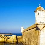 Medieval tower from Fortaleza da Ponta da Bandeira at Lagos — Stock Photo #29957687