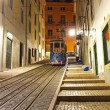 Stock Photo: Bictram by night in Lisbon Portugal