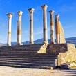 Volubilis - Roman basilica ruins in Morocco, North Africa — Stock Photo