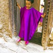 FES, MAROCCO - October 15 2013 : Kid beautifull dressed up on Ei — Stockfoto
