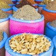 Spices at the market in Morocco — Foto de Stock