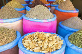 Spices at the market in Morocco — Stock Photo