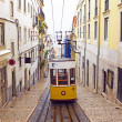 Bica tram in Lisbon Portugal — Stock Photo