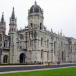 Monastery of St. Jeronimos, is one of most famous monume — Stock Photo #36408479
