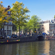 City scenic in Amsterdam the Netherlands — Stock Photo
