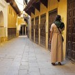 Old street in Fes Morocco — Stock Photo