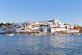 View on Ferragudo in the Algarve Portugal — Stock Photo