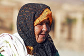Old nomad woman — Stock Photo