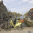 City scenic from Amsterdam Netherlands — Stock Photo