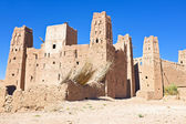 The fortified town of Ait ben Haddou near Ouarzazate Morocco — Stock Photo