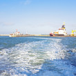 Harbor from Helgoland — Stock Photo #40539965