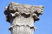 Old pillar at Volubilis — Stock Photo