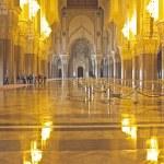 Interior of the Hassan II Mosque — Stock Photo