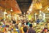 Street market — Stock Photo