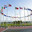 Flags from the world — Stock Photo