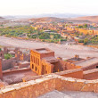 The fortified town of Ait ben Haddou near Ouarzazate Morocco on — Stock Photo #43155019