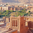 The fortified town of Ait ben Haddou near Ouarzazate Morocco on — Stock Photo #43155173