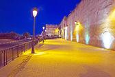 夜の通り — ストック写真
