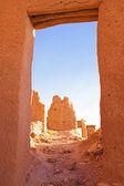 Ait Benhaddou, fortified city, — 图库照片