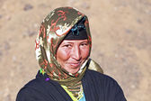 Nomad woman — Stock Photo