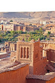 The fortified town of Ait ben Haddou near Ouarzazate Morocco on — Stock Photo