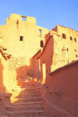 Ait Benhaddou,fortified city, kasbah or ksar, along the former c — Stock Photo