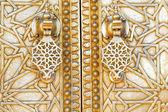Dettaglio porta orientale in Marocco — Foto Stock