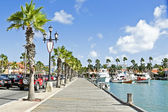 Port of Aruba island — Stock Photo