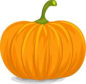Yellow Pumpkin — Stock Vector