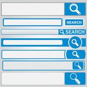 Formulaire de recherche web — Vecteur