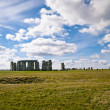 Stock Photo: Distant shot of stonehenge