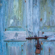 Stock Photo: Locked door