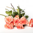 Bunch of pink roses — Stock Photo #13321522