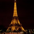 Lit up eiffel tower — Stock Photo #13322192