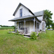 Old house with porch — Stock Photo