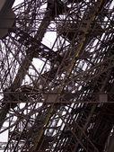 Eiffel tower iron — Stock Photo