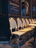 Empty chairs — Stock Photo