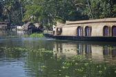 Indian Houseboat — Stock Photo