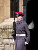 Guardia de Londres con pistola — Foto de Stock