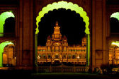 Mysore palace — Stock Photo