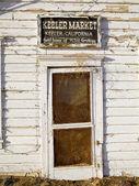 Old Battered Door — Stock Photo