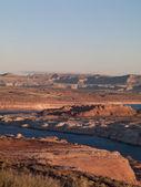 Veduta dall'alto della catena montuosa — Foto Stock